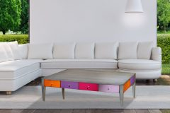 Table basse color
